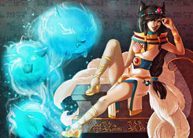 Egyptian Queen Ahri by revois