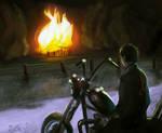 Watching the Barn Burn