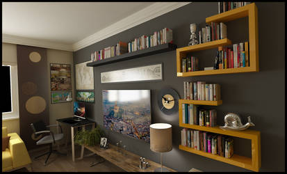 Interior Design - Living Room by Serdarakman
