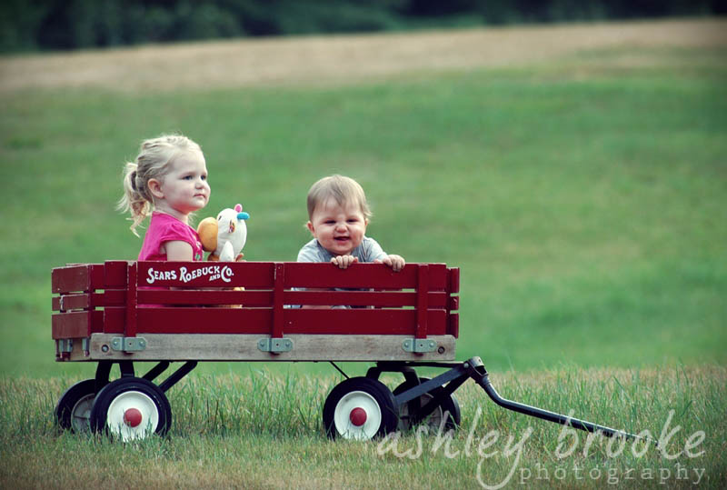 -- Little Red Wagon -- by AshleyxBrooke