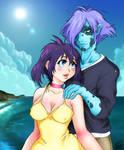 Slayers:  Zel + Amelia