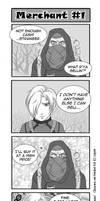 Resident Evil 4 koma by applejack