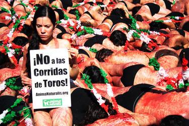 AGAINST bullfighting 2 by copejuma