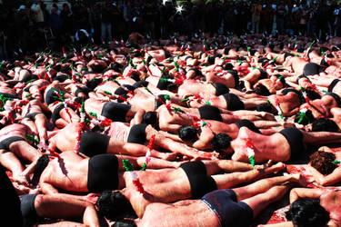 200 people against bullfightin by copejuma