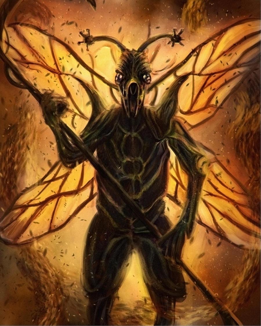 Pryfed Insectine_man_by_tolkienartist-d4wyptc