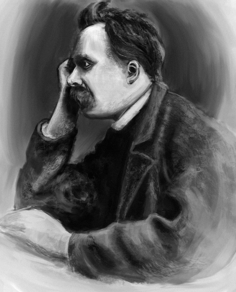 Friedrich Nietzsche by Artofjuhani