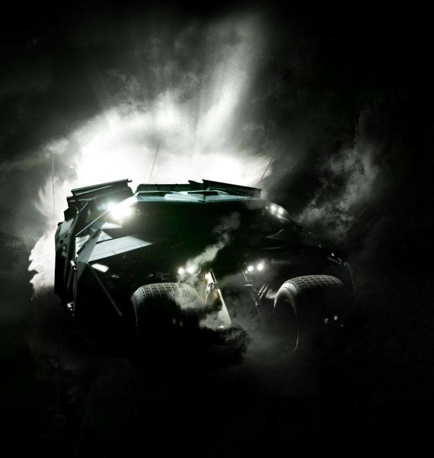 The Batmobile, original by Tanmay-Saxena