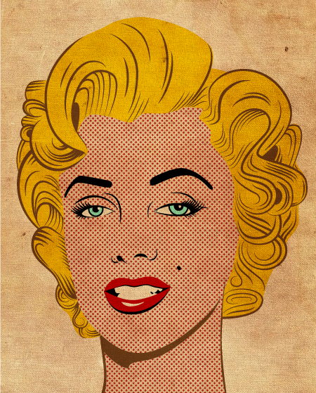 Marilyn Monroe PopArt Style by lazunov