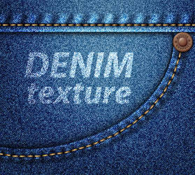 Vector Denim Texture by lazunov