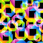 Seamless Origami Pattern