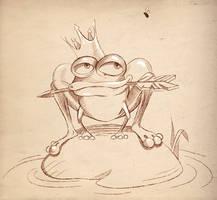 Frog Princess by lazunov