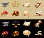 Free Vector - Fantasy Icons