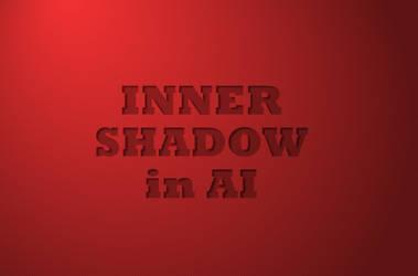 Inner Shadow in Adobe Illustrator by lazunov