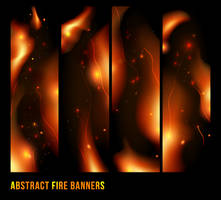 Fire Banner by lazunov