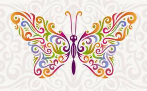 Vector Butterfly - Illustrator tutorial by lazunov