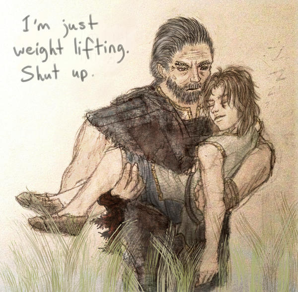 I'm just weightlifting, shut up.