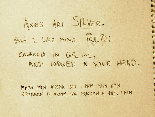 A Little Wee Viking Poem by My-Sword-is-Bigger