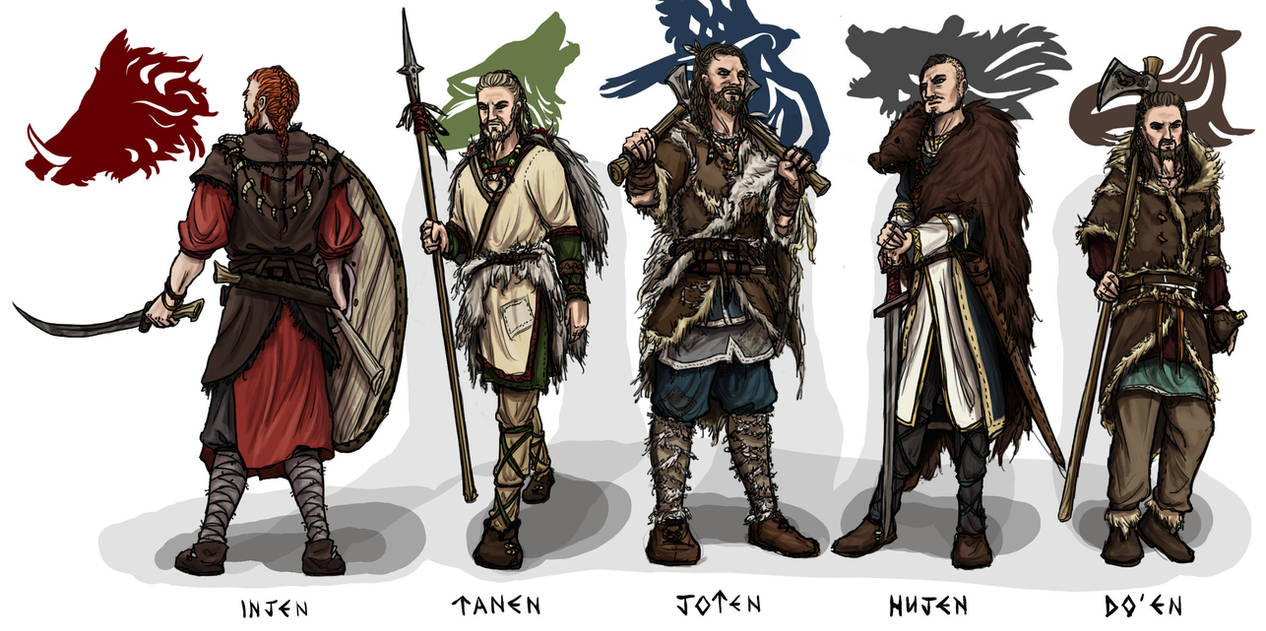 Tribes of the Black Isles by My-Sword-is-Bigger
