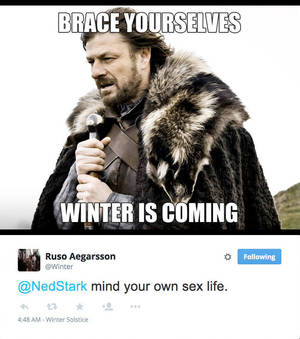 IHNLs (7) - WINTER IS COMING