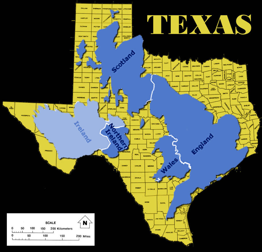 Map Of Texas Vs Europe.Pennock S Fiero Forum The Problems With Comparing The United