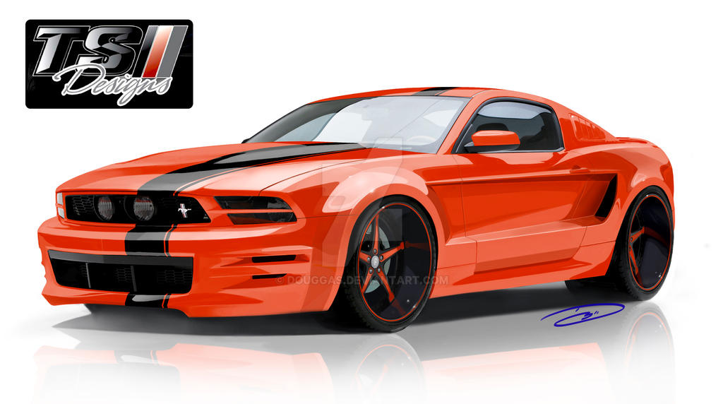 topo widebody 5 0 mustang by douggas on deviantart. Black Bedroom Furniture Sets. Home Design Ideas