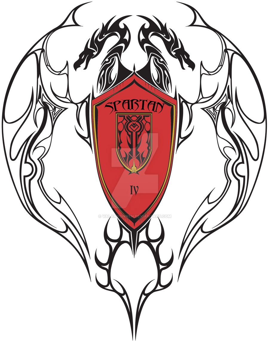 halo 4 spartan iv fire team logo by valanyonnen on deviantart