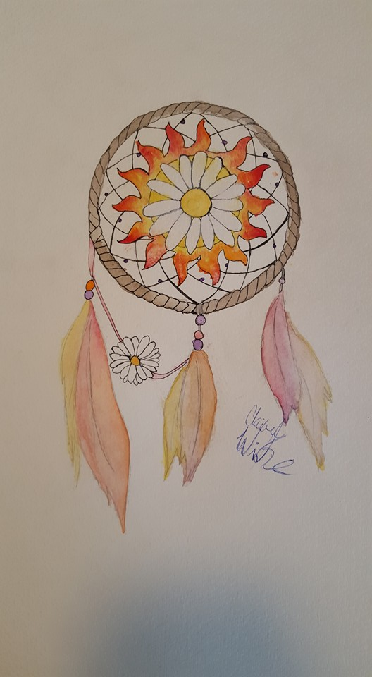 Dream Catcher In The Sun Commission Sun and Daisy dream catcher by ClaireWinke on DeviantArt 22