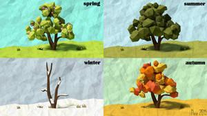 4 Seasons [LowPoly]