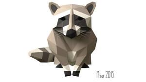 raccoon [LowPoly]