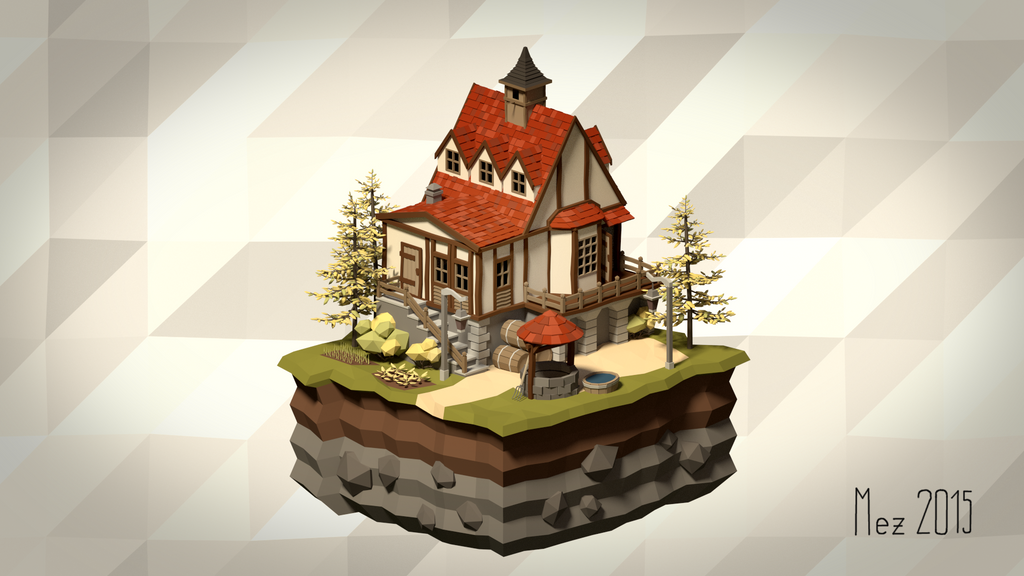 House [Isometric|LowPoly]