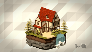 House 03 [Isometric][LowPoly]