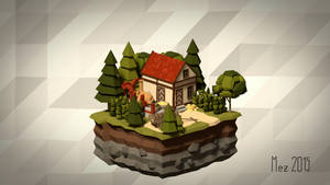 House 08 [Isometric][LowPoly]