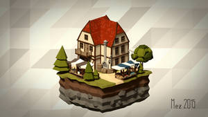 House 09 [Isometric][LowPoly]