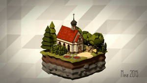 House 10 [Isometric][LowPoly]
