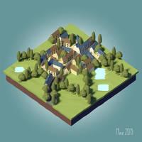 village [LowPoly] [Tutorial]