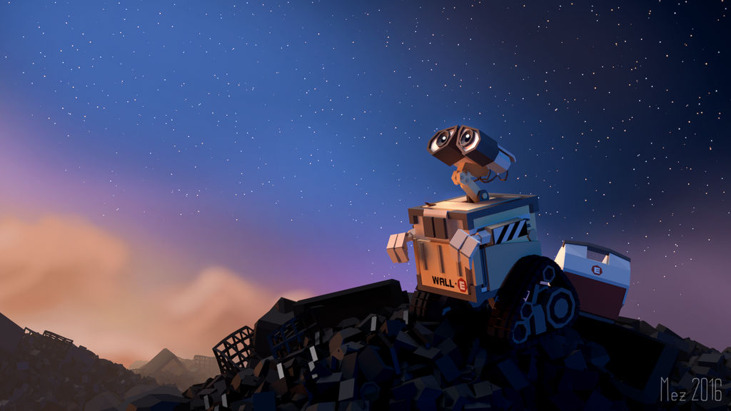 WALL-E [LowPoly] Wallpaper