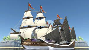 Ships [lowpoly]