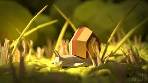 tiny snail [lowpoly]