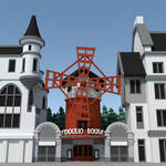 Moulin Rouge [LowPoly]