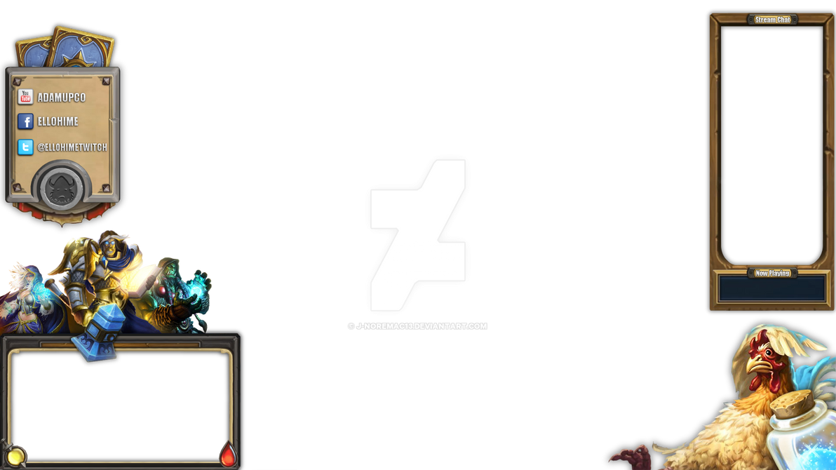 Ellohime Hearthstone Overlay by j-noremac13