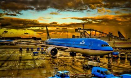 KLM    blue