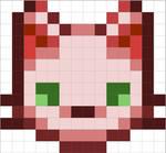 Perler Bead Patterns - Cat Face