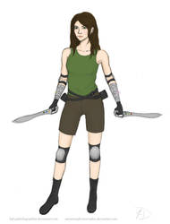 Draw Yourself Series: FFVII by HJD-GalaktikGraphiks