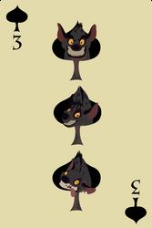 3 of spade by Citron--Vert