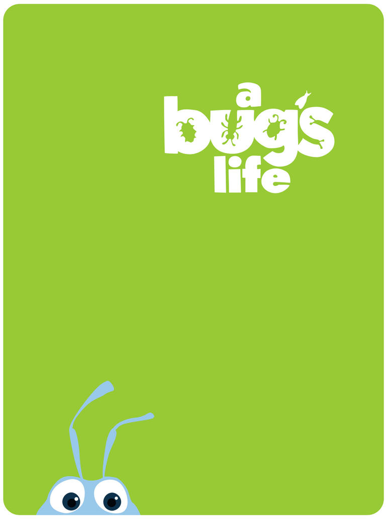 It is an image of Refreshing A Bug's Life Poster