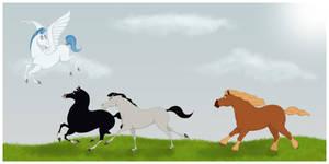 The race by Citron--Vert