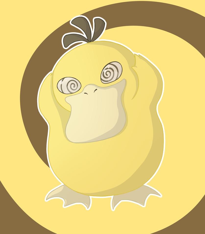 Psykokwak by Citron--Vert