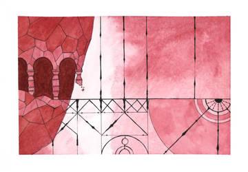 Gris Fanart - Red by Citron--Vert