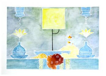 Fanart Gris - Yellow by Citron--Vert