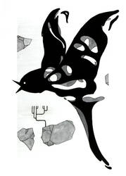 Fanart Gris - Bird by Citron--Vert